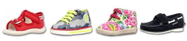 Von amerikanischen Kinderärzten bestätigte Naturino-Schuhe
