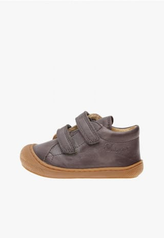 NATURINO COCOON VL - Leather first-steps shoes - Grey