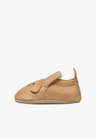 NATURINO DLIN - Crib shoes with doggy patch - Hazel