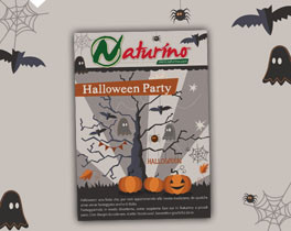Your Halloween Party with Naturino