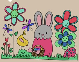 Easter all over the World: learn while having fun with the Naturino E-book!